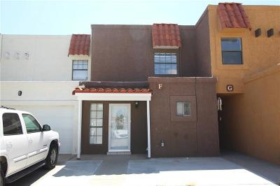 El Paso Condo/Townhouse For Sale: 1594 Bengal F Drive