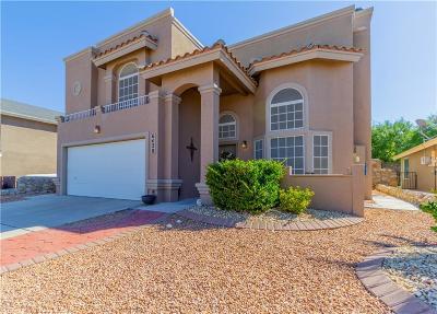 El Paso Single Family Home For Sale: 6428 Berringer Street