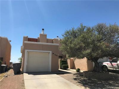 El Paso Condo/Townhouse For Sale: 1705 Villa Santos