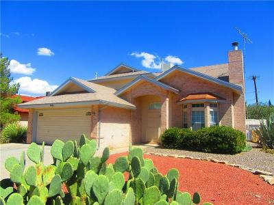 Horizon City Single Family Home For Sale: 400 Brill Circle