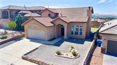El Paso Single Family Home For Sale: 320 Resler Ridge Drive