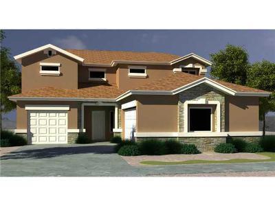 Horizon City Single Family Home For Sale: 308 Park Vista Place