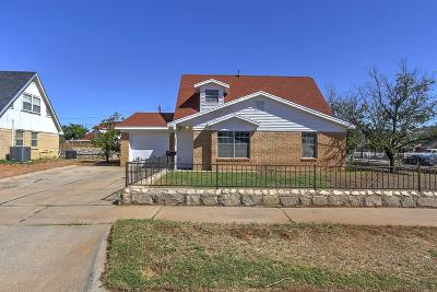 El Paso Single Family Home For Sale: 10400 Ponderosa Street