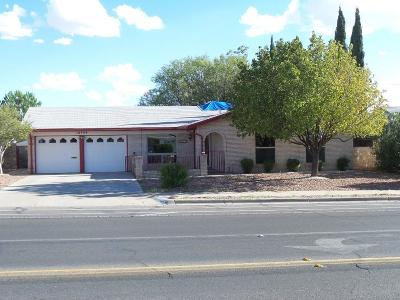 El Paso Single Family Home For Sale: 10544 Springwood Drive