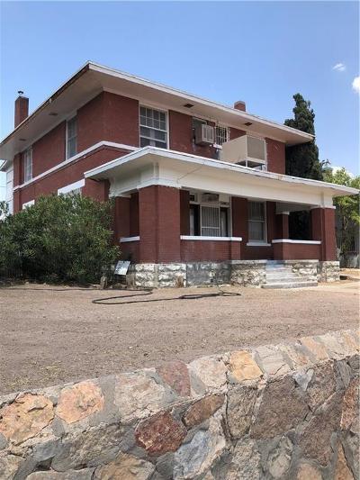 El Paso Multi Family Home For Sale: 2801 Wheeling Avenue #4