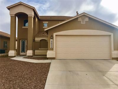 El Paso Single Family Home For Sale: 14624 Spanish Point Drive