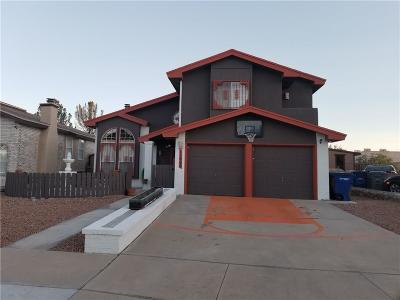 El Paso Single Family Home For Sale: 11668 Shapleigh Court