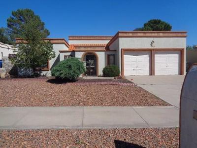 El Paso Single Family Home For Sale: 748 El Parque Drive