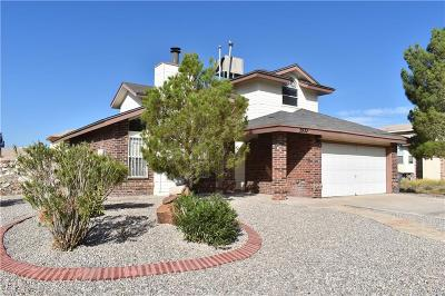 El Paso Single Family Home For Sale: 5932 Valley Circle