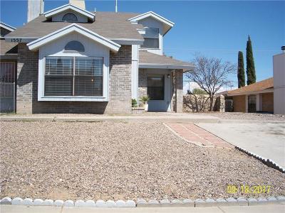 El Paso TX Single Family Home For Sale: $97,500