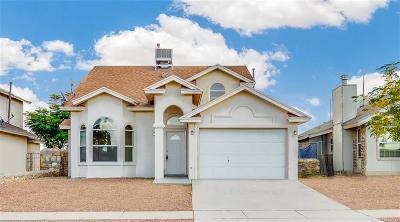 El Paso TX Single Family Home For Sale: $119,950