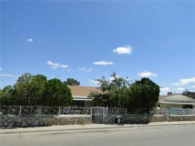 El Paso TX Multi Family Home For Sale: $115,000