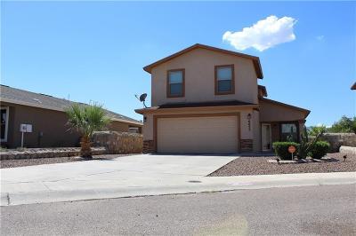 El Paso TX Single Family Home For Sale: $129,999