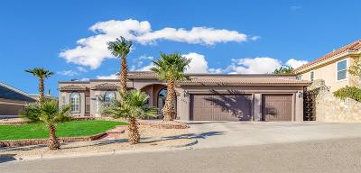 El Paso Single Family Home For Sale: 6745 Pearl Ridge Drive