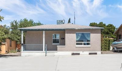 El Paso TX Single Family Home For Sale: $110,000