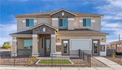 El Paso TX Single Family Home For Sale: $268,110