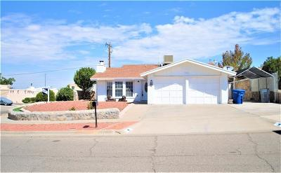 El Paso TX Single Family Home For Sale: $124,999
