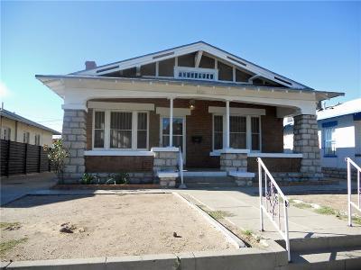 Single Family Home For Sale: 3220 Montana Avenue