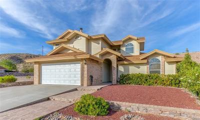 El Paso Single Family Home For Sale: 7628 Medano Drive