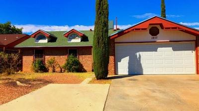 Single Family Home For Sale: 1857 Leroy Bonse Drive