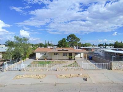 El Paso Single Family Home For Sale: 5244 Pikes Peak Drive