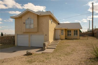 El Paso Single Family Home For Sale: 8915 Eclipse St