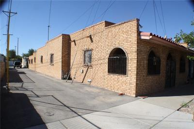 El Paso Single Family Home For Sale: 4010 Rivera Avenue