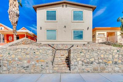 El Paso Multi Family Home For Sale: 1413 Nevada #A & B