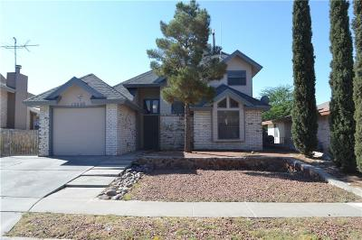 El Paso Single Family Home For Sale: 12008 Miguel Varela Lane