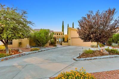 El Paso Single Family Home For Sale: 6305 Tarascas Drive