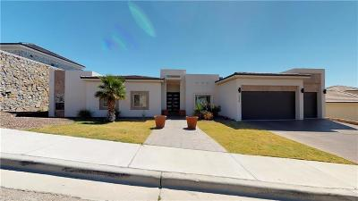 El Paso Single Family Home For Sale: 1036 Via De La Paz Drive
