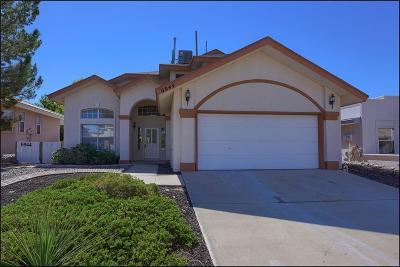 El Paso Single Family Home For Sale: 6944 Crown Ridge Drive