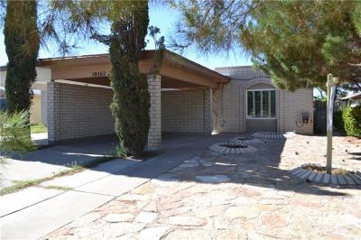 El Paso Single Family Home For Sale: 10562 Kinross Avenue