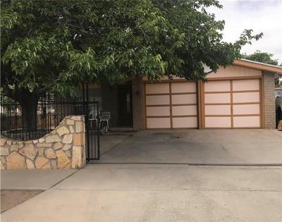 El Paso TX Single Family Home For Sale: $87,500
