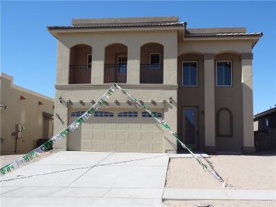 Horizon City Single Family Home For Sale: 12436 Chamberlain Drive