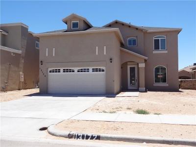 Horizon City Single Family Home For Sale: 12440 Chamberlain Drive