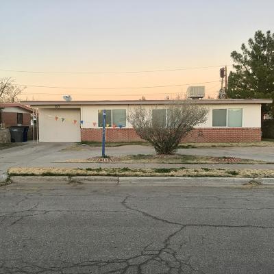 El Paso Single Family Home For Sale: 7117 Tangerine Lane