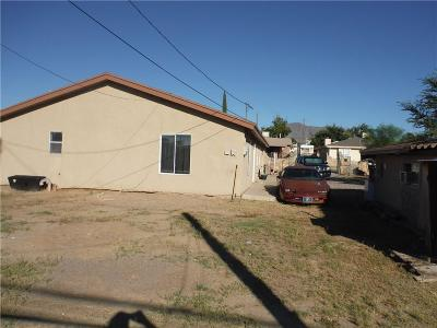 Canutillo Single Family Home For Sale: 6881 2nd Street