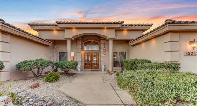 Single Family Home For Sale: 5925 Ojo De Agua Drive