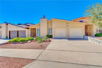 El Paso Single Family Home For Sale: 763 Espada Drive