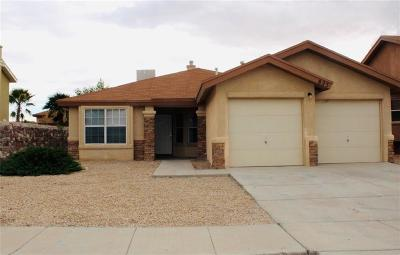 El Paso Single Family Home For Sale: 823 Sun City Park Court