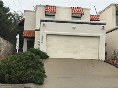 El Paso Single Family Home For Sale: 6035 Bandolero Drive #A