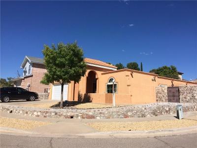 El Paso Single Family Home For Sale: 800 Firestar