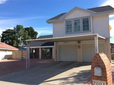 El Paso Single Family Home For Sale: 2001 Pier Lane