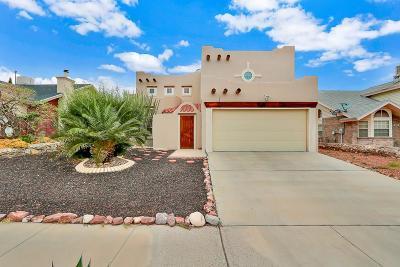 El Paso Single Family Home For Sale: 1409 Luz De Camino