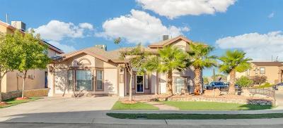 El Paso Single Family Home For Sale: 12359 Cora Viescas Lane