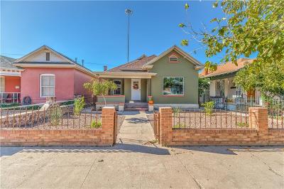 El Paso Single Family Home For Sale: 706 W. Missouri Avenue