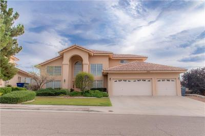 El Paso Single Family Home For Sale: 6304 La Posta Drive