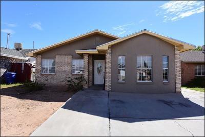 El Paso TX Single Family Home For Sale: $102,000