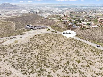 El Paso Single Family Home For Sale: 440 Rocky Point Drive